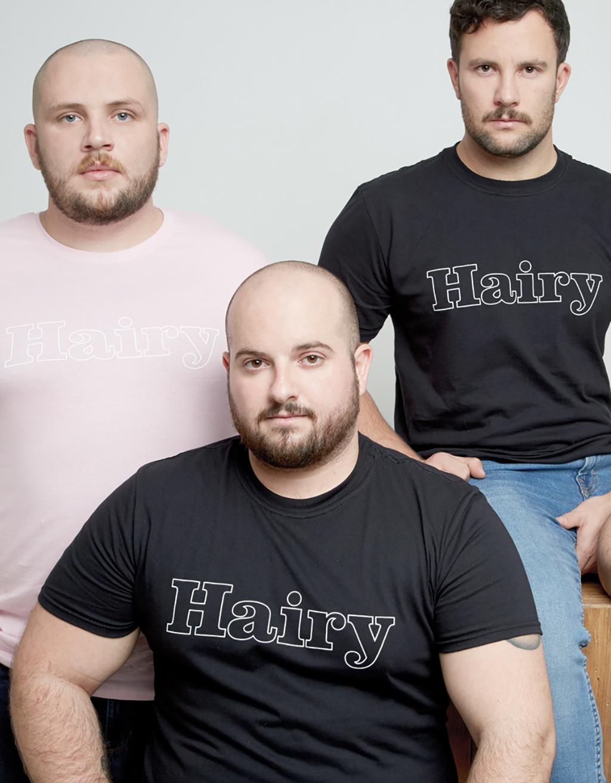 HAIRY 2t Shirt